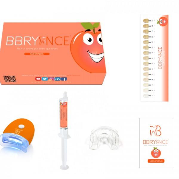 Peach-Teeth-Whitening-Kit